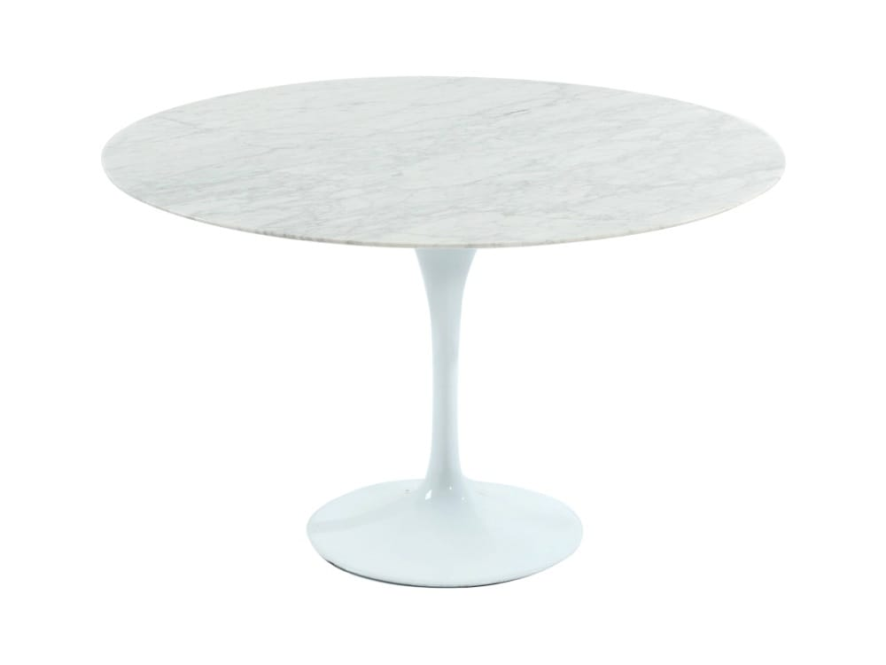Tulip Dining Table Round Marble replica – Dia900