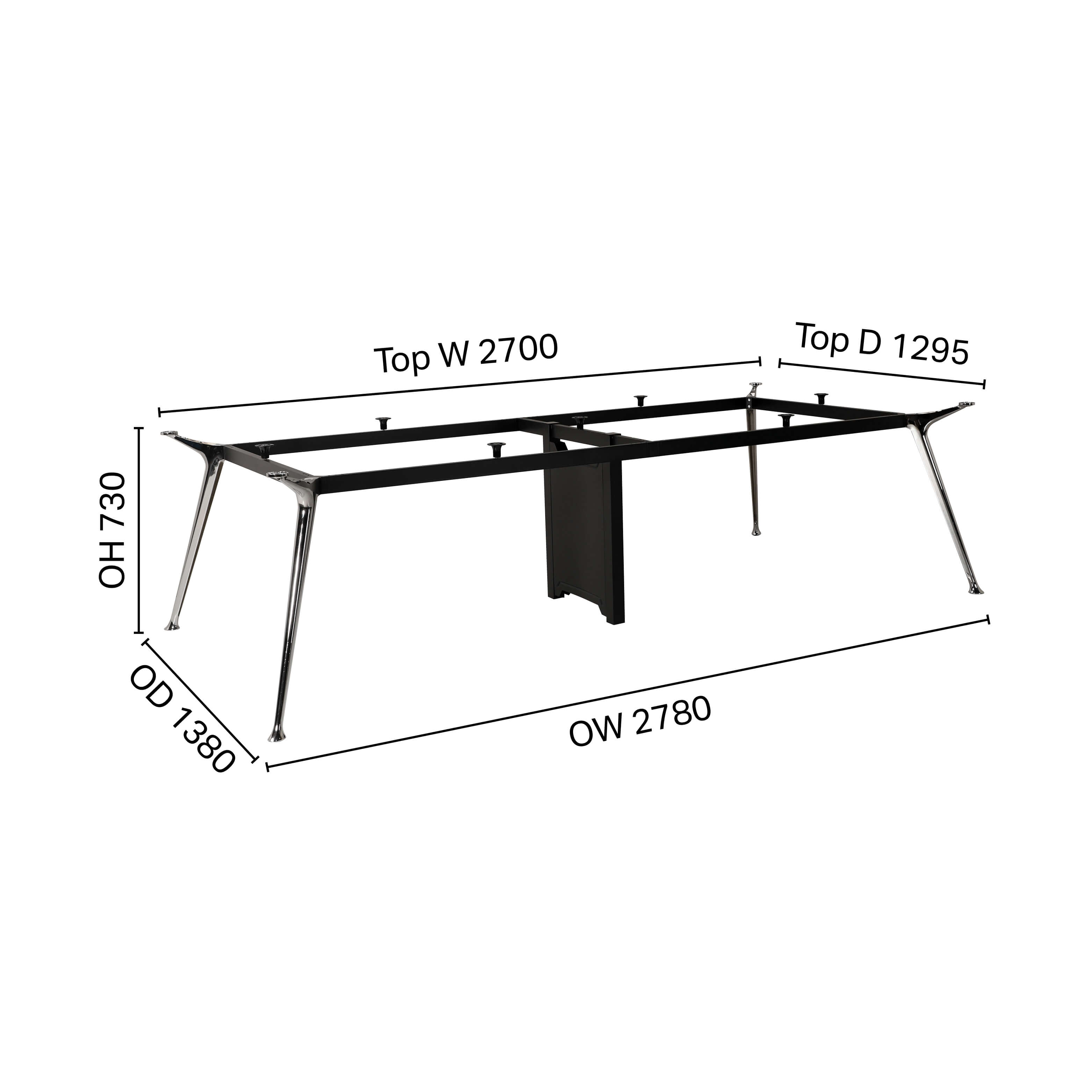 Chad Conference Table Leg - W2780