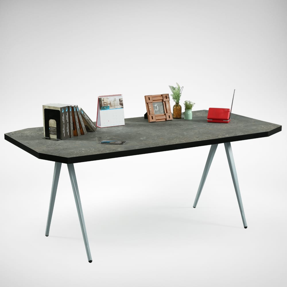 [Laminate Top + Garang Table Base - W1800]