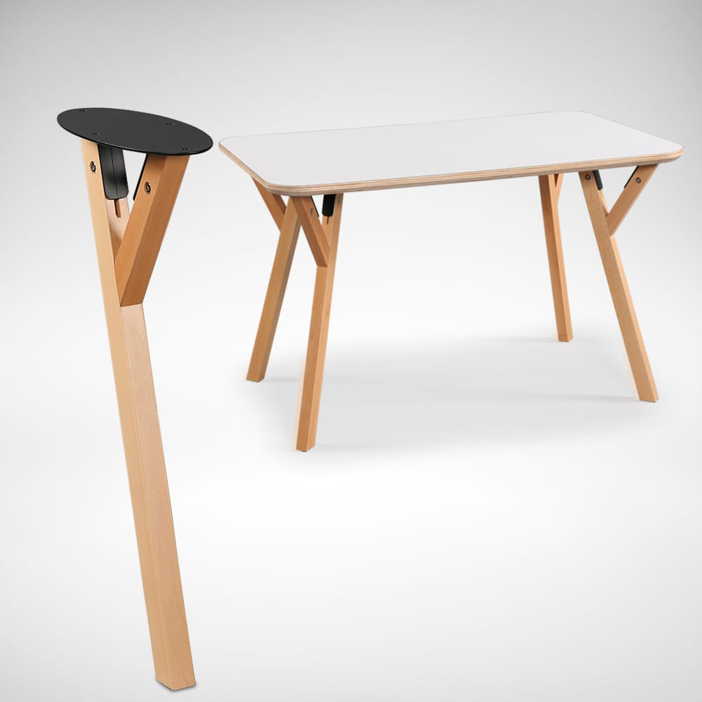 Hatsuro Table Leg Comfort Design The Chair Amp Table People
