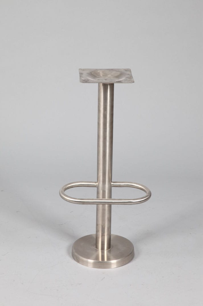 Mounty Table Base Stainless Steel For Floor Mounting