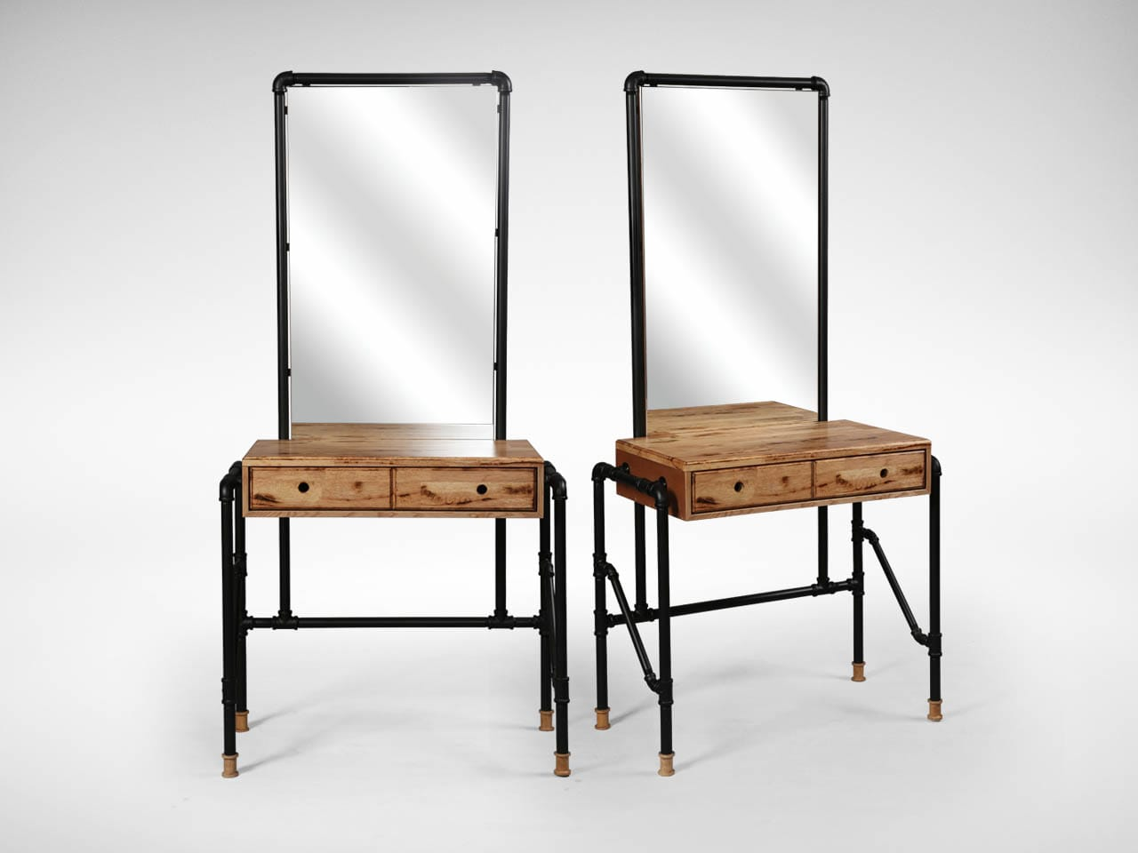 Pipe Dresser With Mirror Comfort Design The Chair Table People