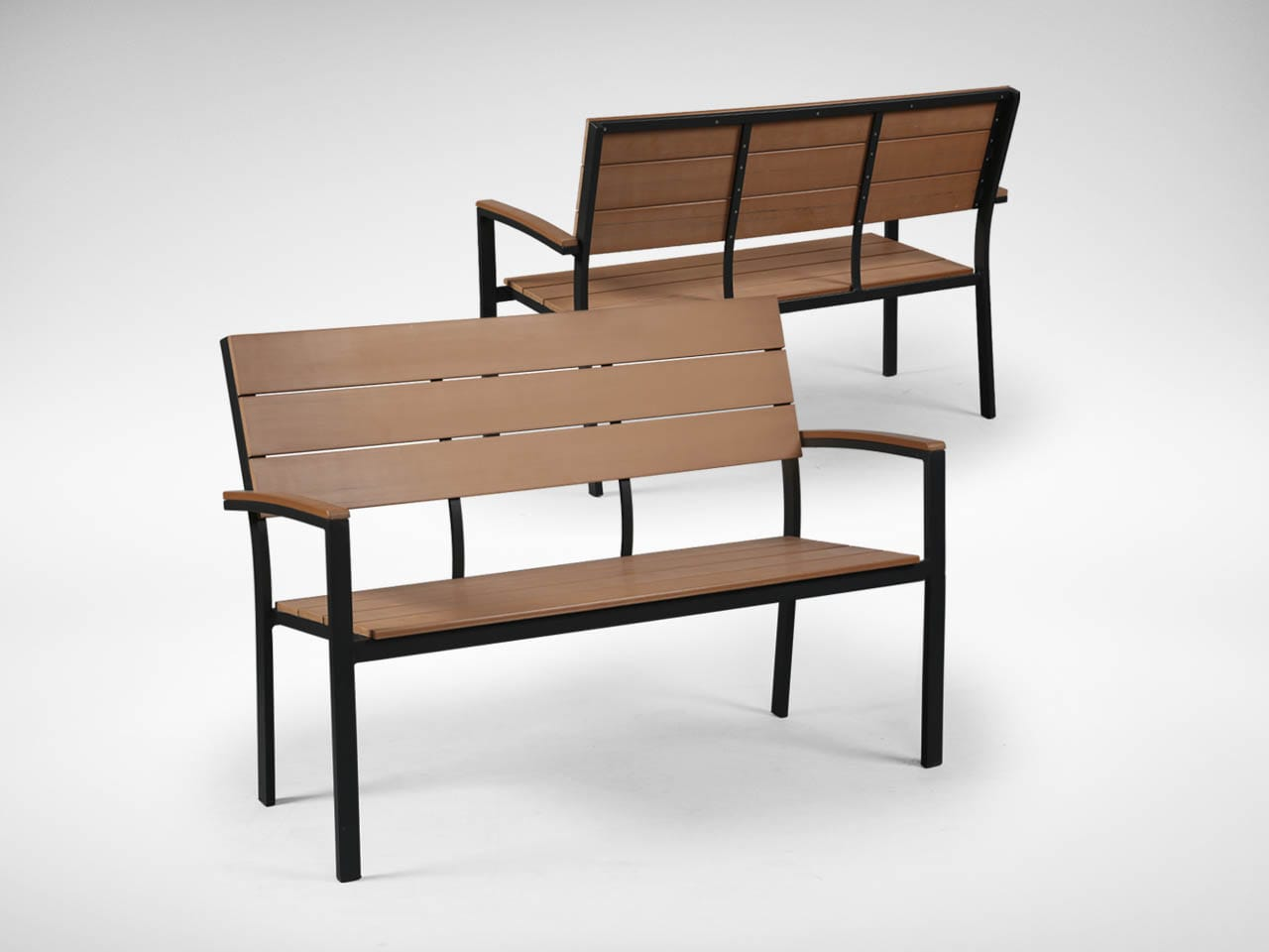 Fossil Outdoor Bench Highback Comfort Design The