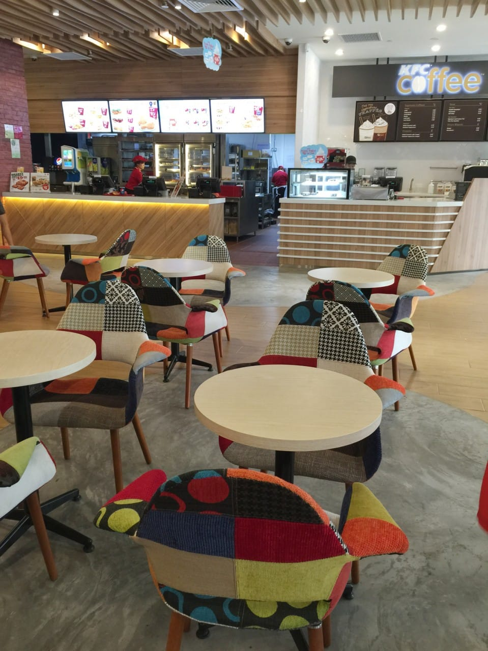 KFC @ Valley Point | Product Seen:  [Sakai – Patch Armchair]<br />