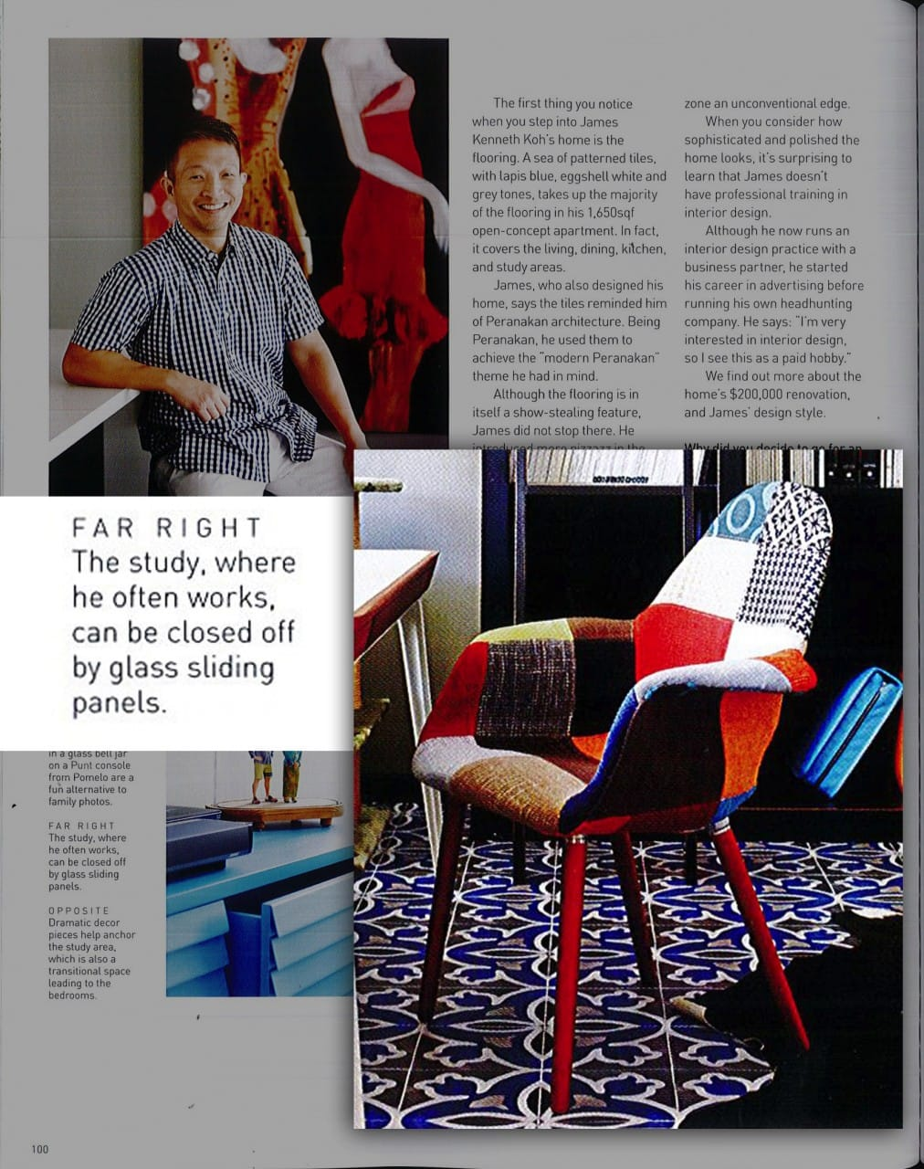 As featured on Home &amp; Decor March 2015 Issue<br />