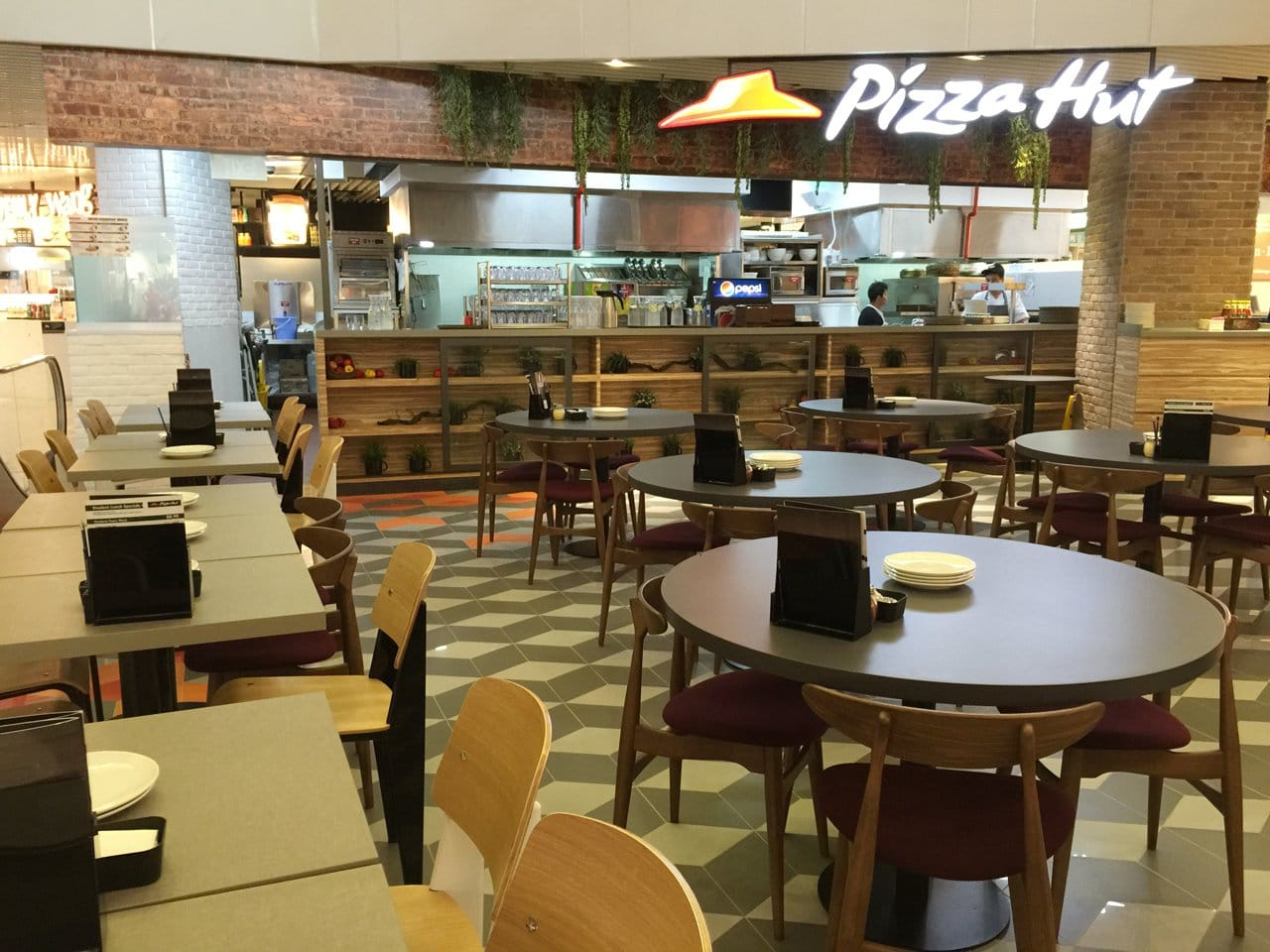 Pizza Hut - One KM | Products Seen: [Index Sidechair & Hanoi Chair]<br />