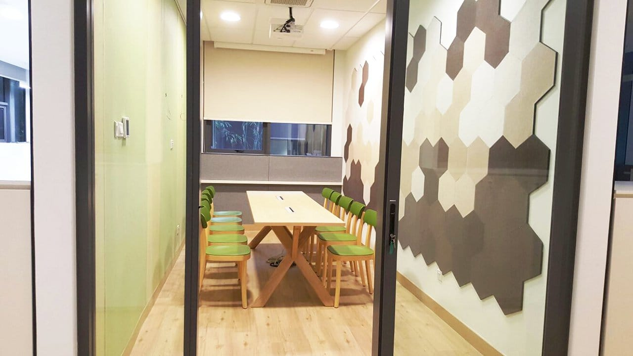 River Safari Office - Woodland | Product Seen: [Farm-1 Chair &amp; Customised Laminate Tabletop + Dock Table Leg]<br />