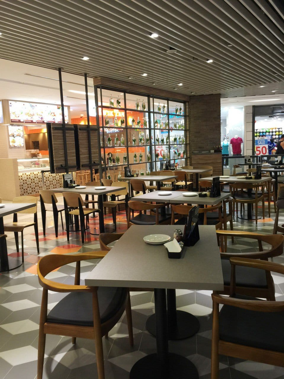 Pizza Hut @ One KM | Products Seen: [Index Sidechair & Osaka Armchair]<br />