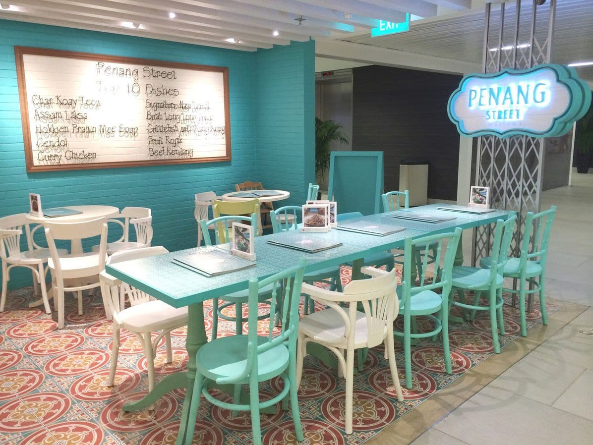 Penang Street - NUH Medical Centre | Products seen: [Farm V3 Sidechair, Prince Armchair, Kopitiam – Wenge Chair , Penang Table Leg]<br />
