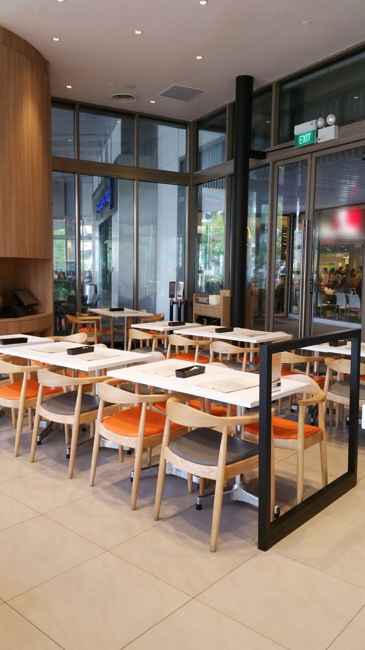 Thai Express - Hougang 1 | Products Seen: [Elephant Chair, Osaka Armchair & Customised Tabletop with Lulu Table Base – 3 Prong]