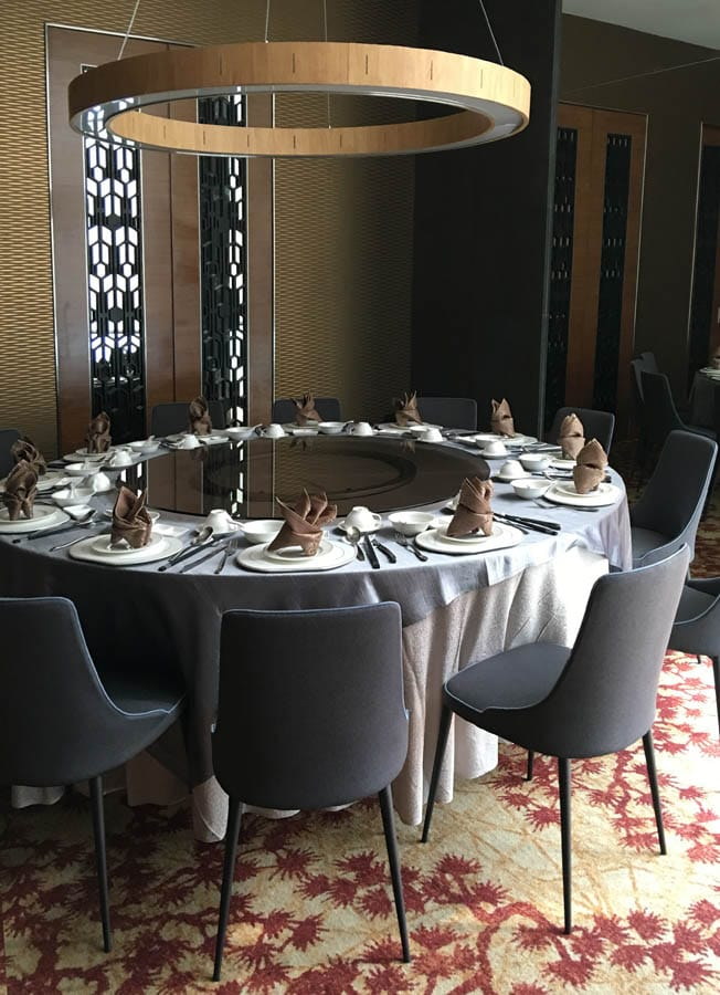 Paradise Teochew Restaurant - Chinese Swimming Club  |  Products seen: [Dion Sidechair & Lazy Susan Ring]