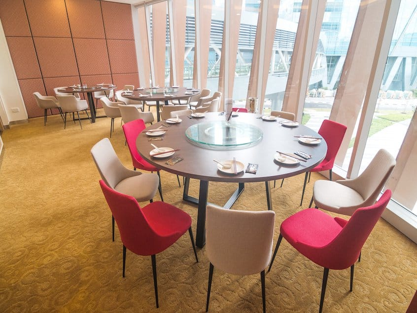 Yunan Garden Restaurant - Fusionopolis | Products Seen: [Dion Sidechair &amp; Jonah Armchair]<br />