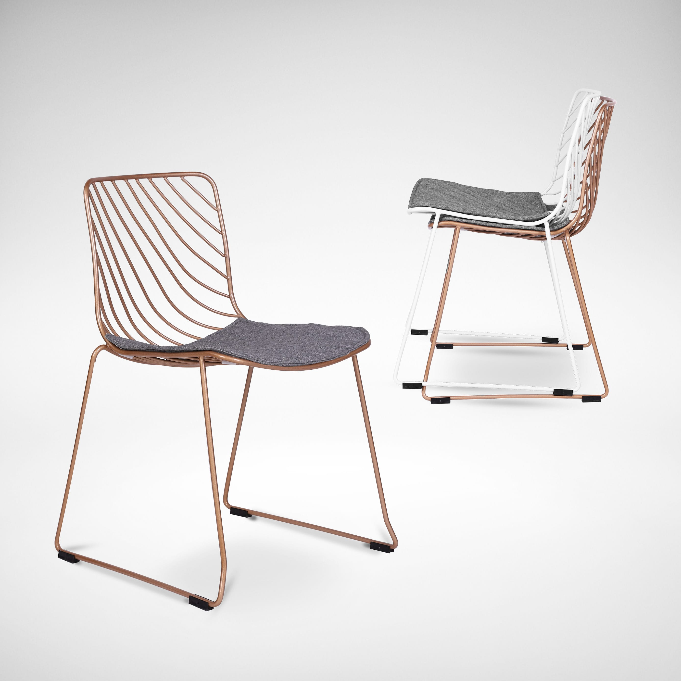 Wire 9 Sidechair   Comfort Design - The Chair & Table People