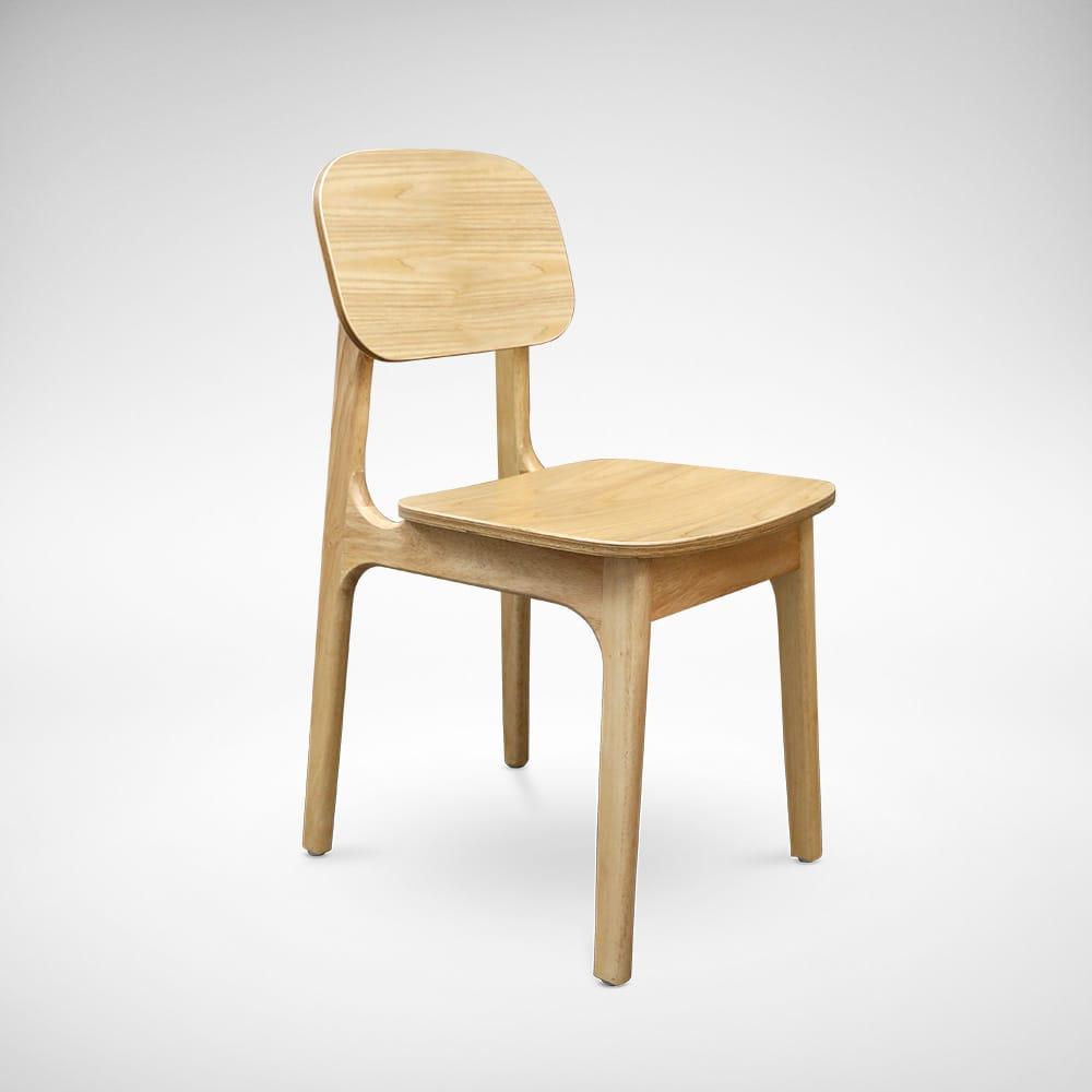 Zurich wood sidechair comfort design the chair for Outdoor furniture zurich