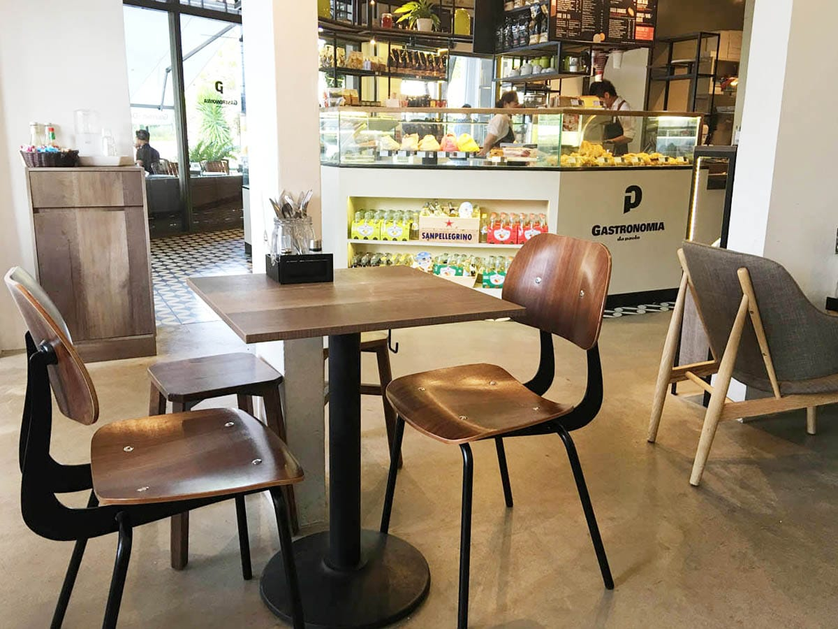 Da Paolo Gastronomia @ Cluny Court | Products seen: [Savvy Sidechair & Tang Stool]<br />