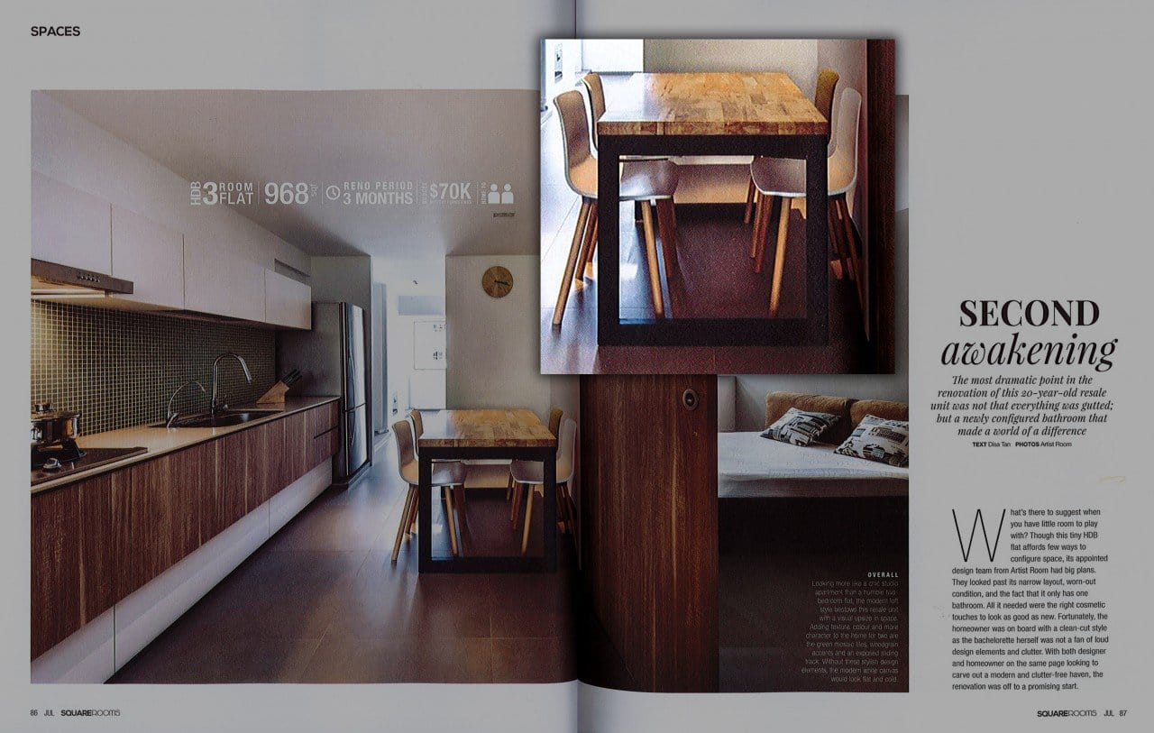 As featured on Squareroom - July 2015 issue