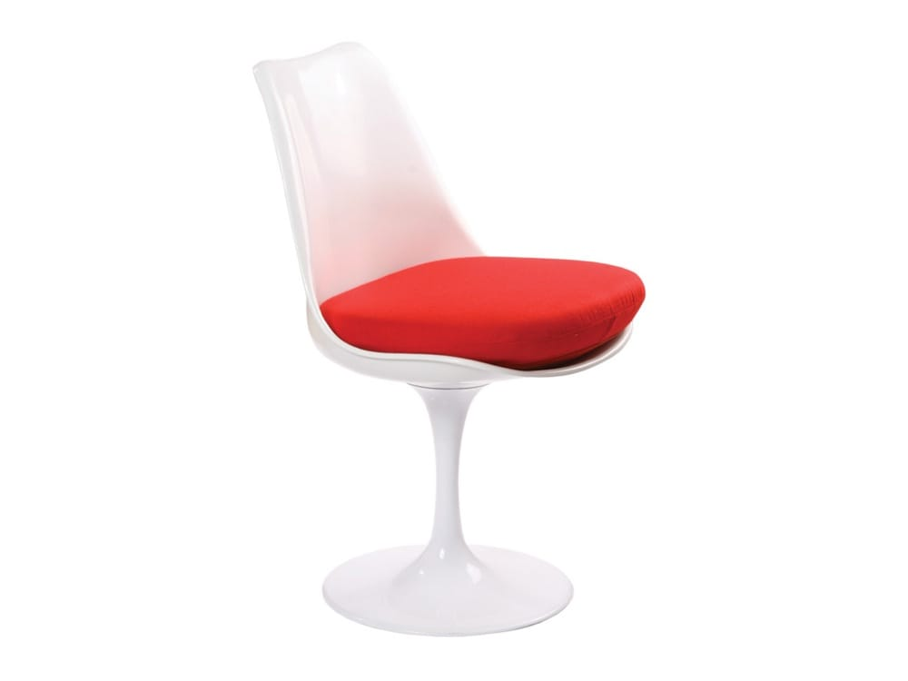 Tulip sidechair replica comfort design the chair table people - Replica tulip chair ...