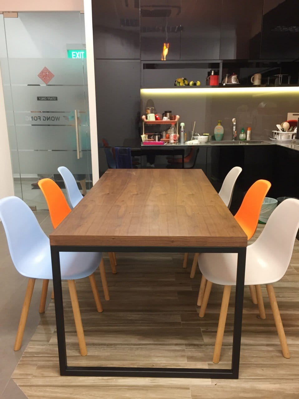 Wong Fong Engineering Works Pte Ltd - 79 Joo Koon Circle | Products Seen: [Argo + Round Leg Chair &amp; Wayne Dining Table]<br />