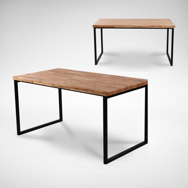 Ricky Dining Table w/ Butcher Top – W1200