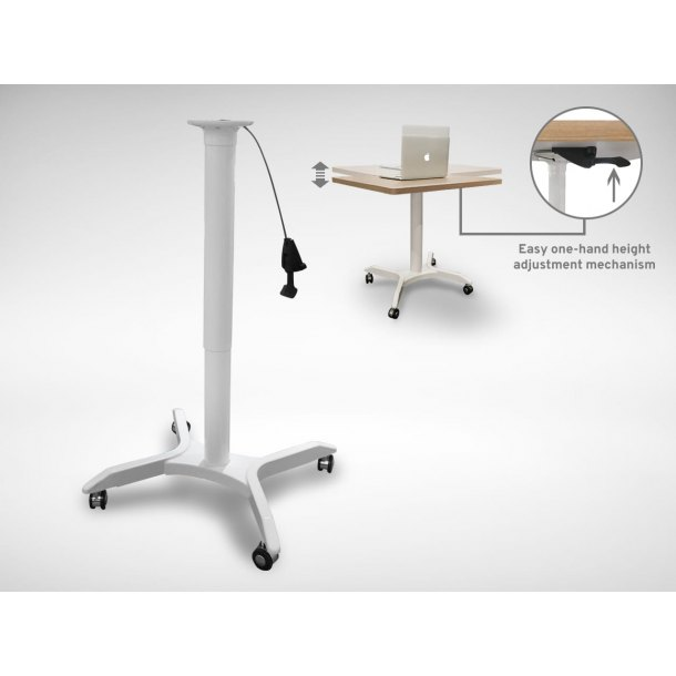 Napoleon Table Base w/ Castors (Height Adjustable)
