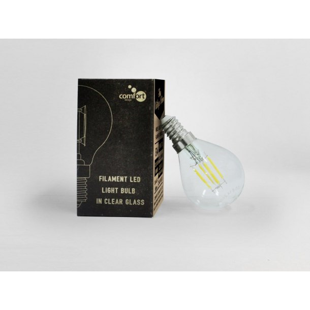 Bulb E14 LED Filament – Spherical