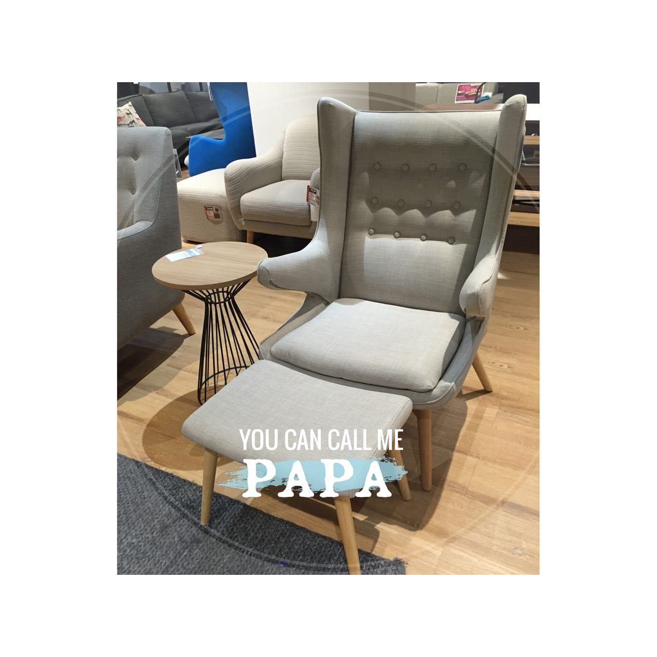Papa Lounger Replica Comfort Design The Chair