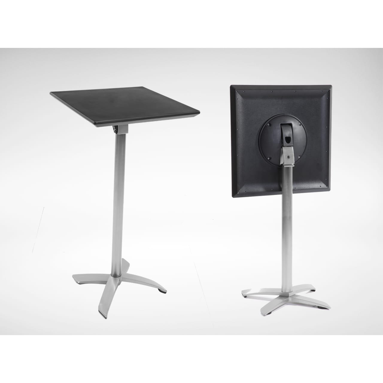 Alton Folding High Table – Square 700 (Nestable)