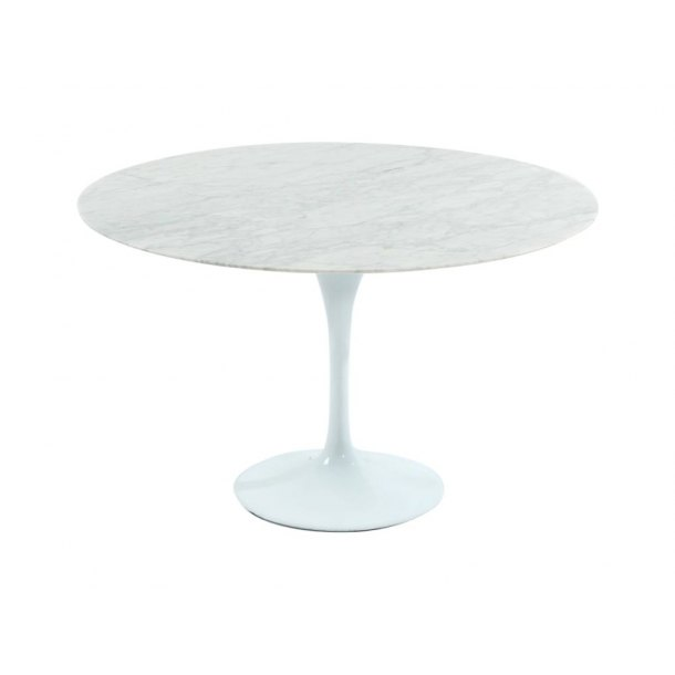 Tulip Dining Table-Round Marble (replica) – Dia900