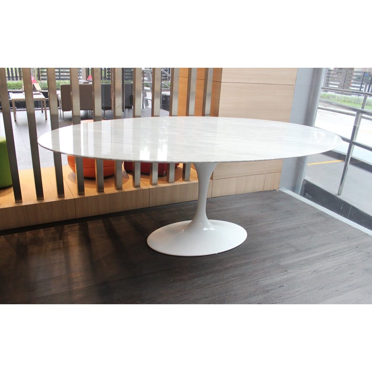 Tulip Dining Table – Oval Marble (replica) – W1700 ...