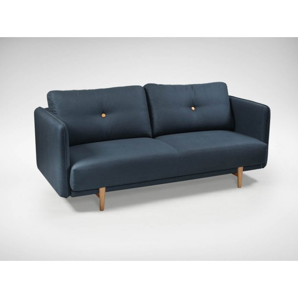 Bruffon 3–Seater Sofa - Dark Blue