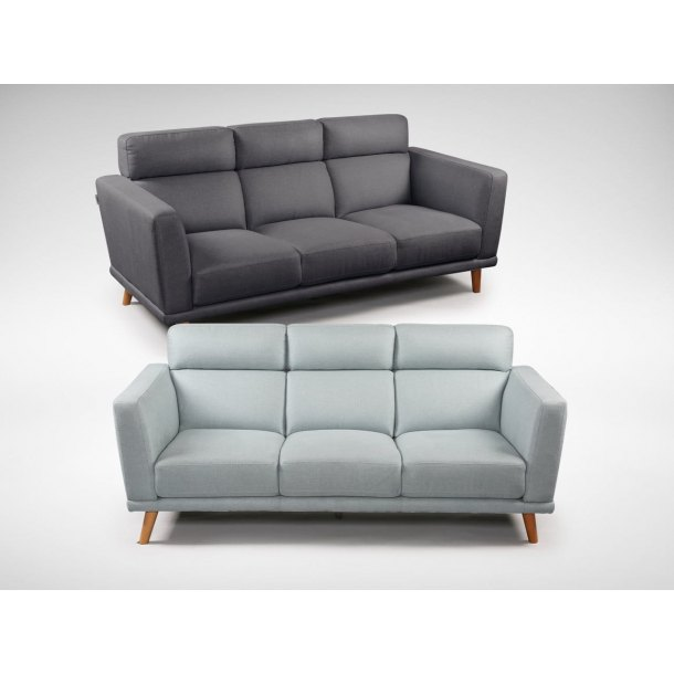 Neuron 3 Seater Sofa – Fabric