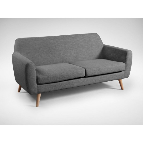 Bessie 2.5–Seater Sofa - Dark Grey