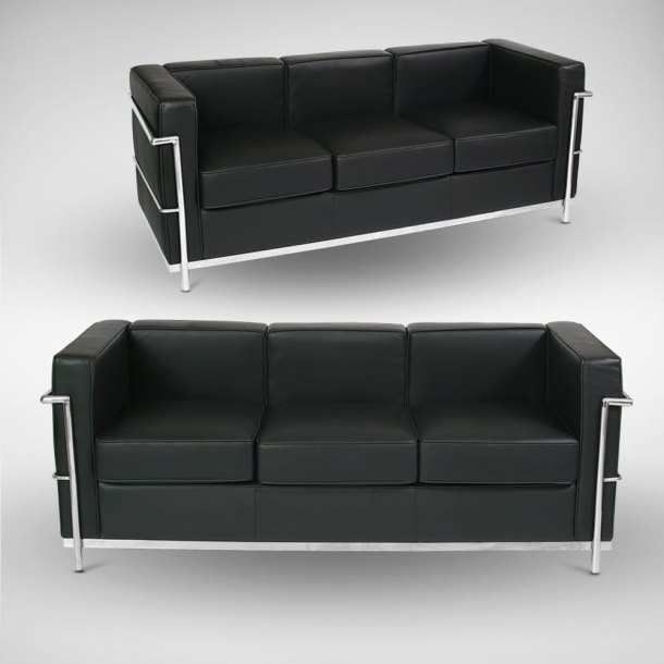Le Corbusier (replica) 3–Seater Sofa