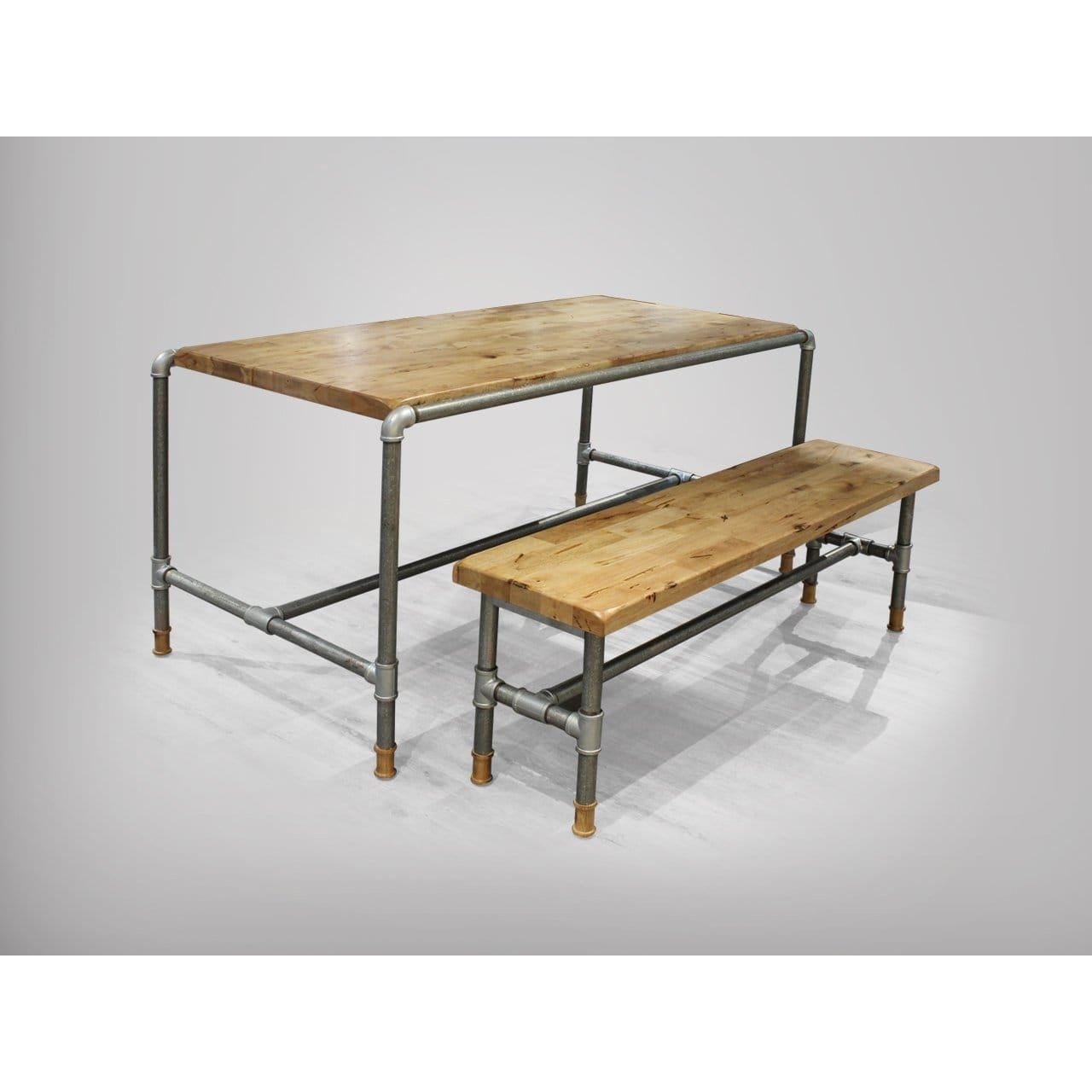 Pipe Dining Table Customisable Comfort Design The Chair Table