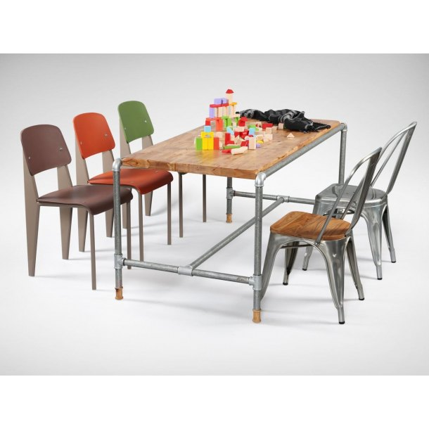 Pipe Dining Table Customisable