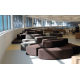 Nanyang Polytechnic - Library | Products seen: [Wave Modular Sofa]