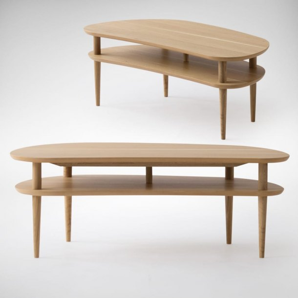 Heather Coffee Table - Oak Wood
