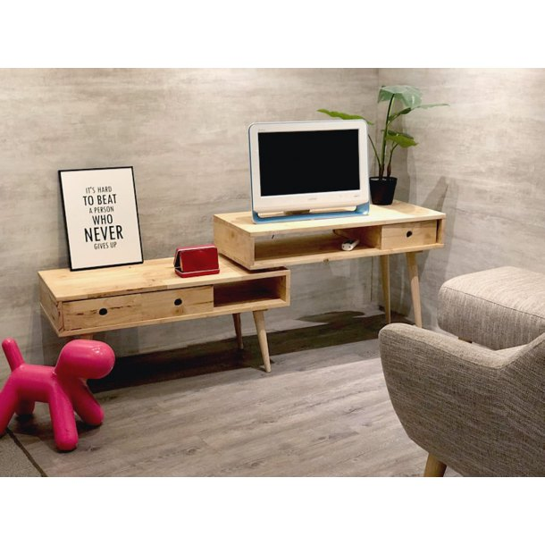 Flux 2-tier TV Console