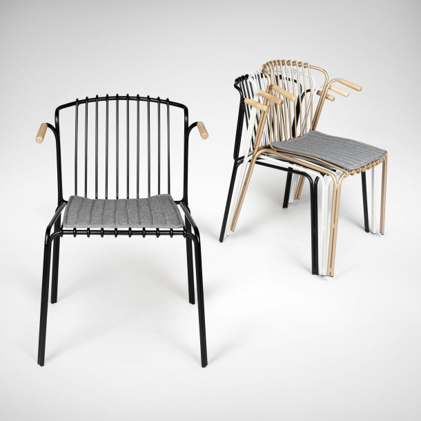 Wire 10 Arm Chair
