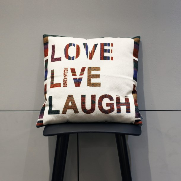 Cushion – Love Live Laugh V2