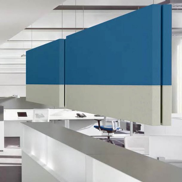 Hush Ceiling Hanging Acoustic Partition