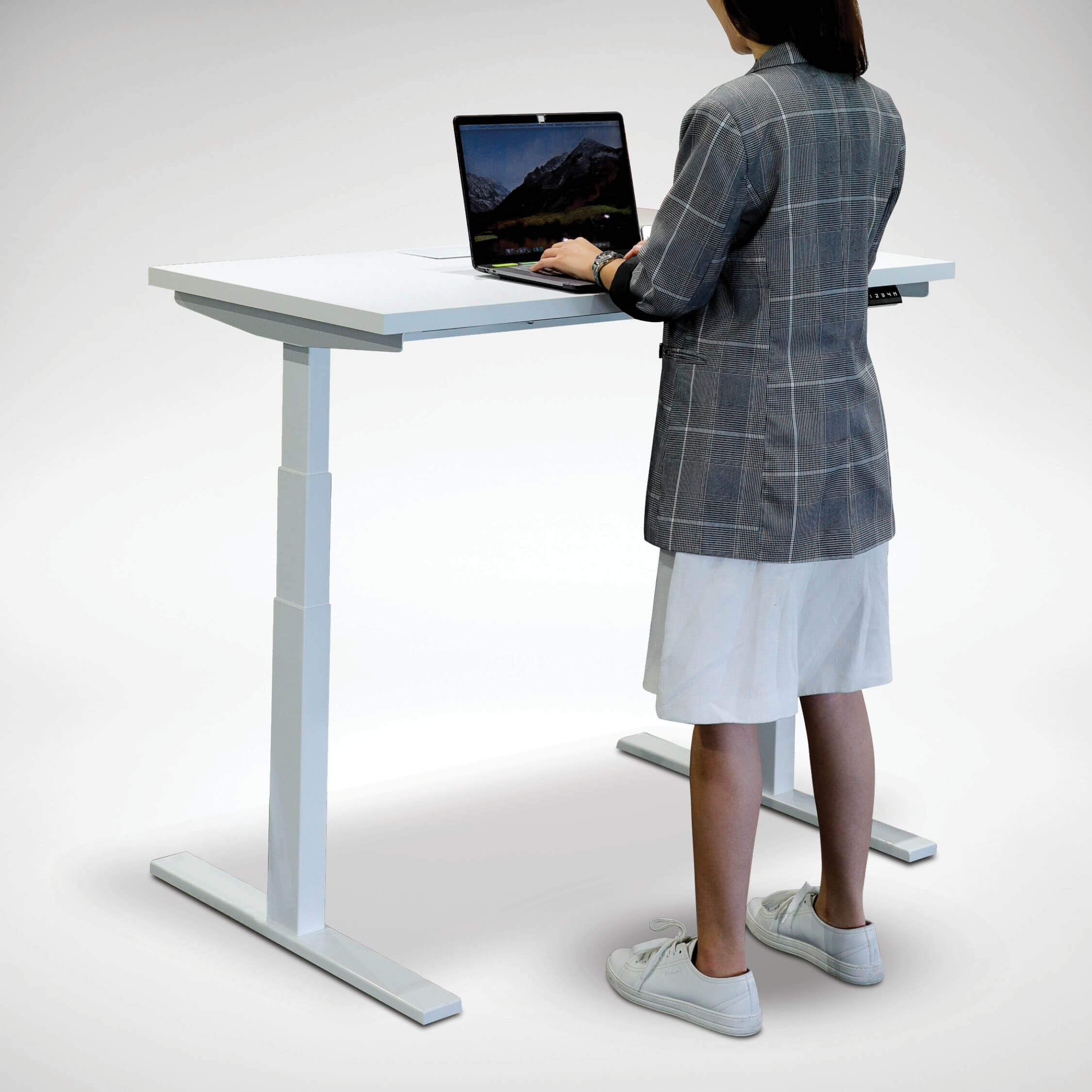 Tito Dual-Sided Height Adjustable Table Leg | Comfort Design Furniture