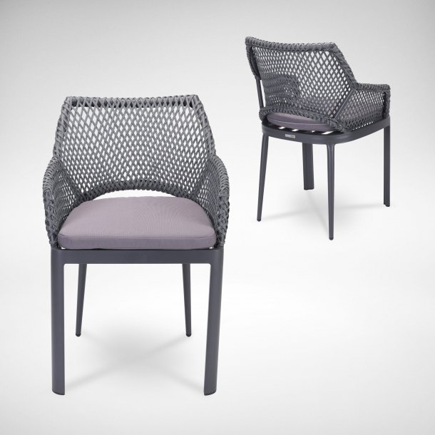 Luciana Outdoor Armchair - 2pc Bundle