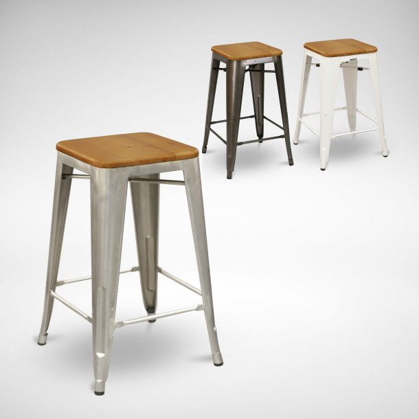Alex Barstool SH650 – Wood Seat