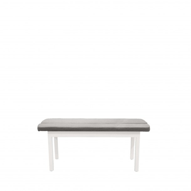 Haru Bench - Cushioned Seat/Wood Leg - W1100