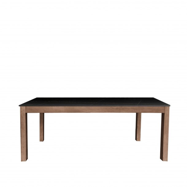 Sintered x Column Dining Table - W1400
