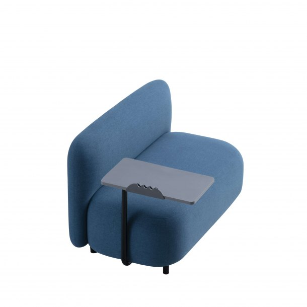 Credo 2-Seater Armless Sofa - Tablet