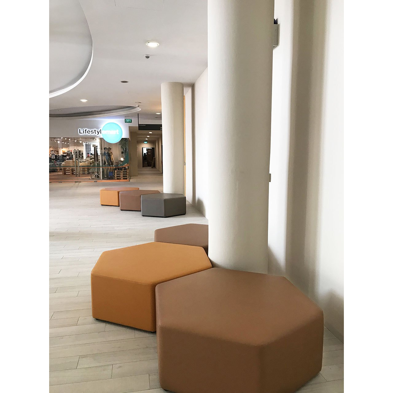 Hexagon Stool Comfort Design The Chair Amp Table People