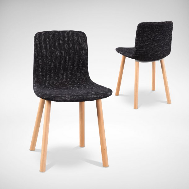 Pino + Round Leg Side Chair