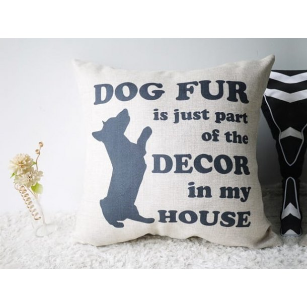 Cushion – Dog Fur
